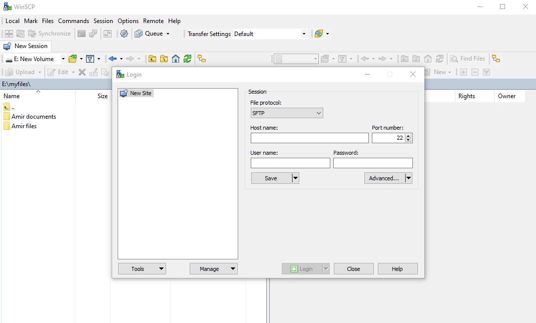 انتقال فایل به سرور مجازی لینوکس از طریق WinSCP