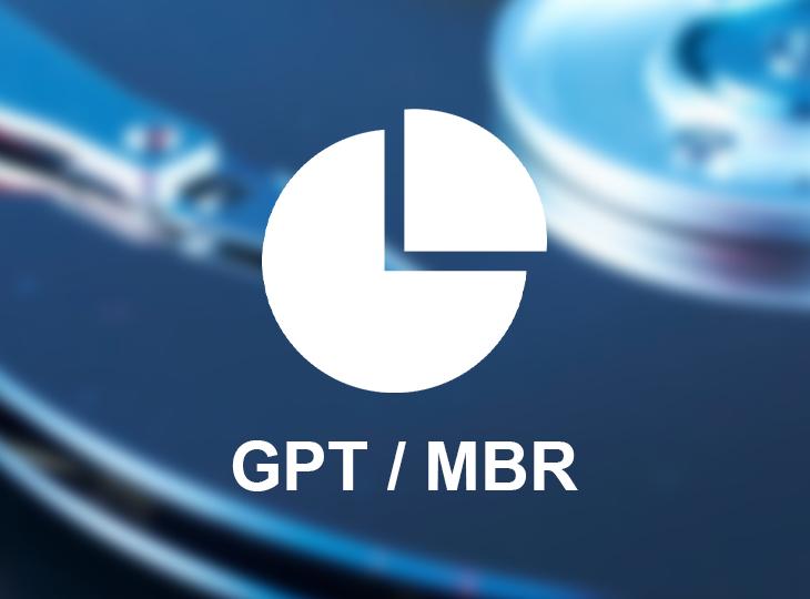 فرمت MBR و GPT